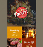 Cafe & Restaurant Newsletter  Template 54588