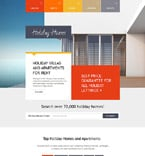 Real Estate Website  Template 54590