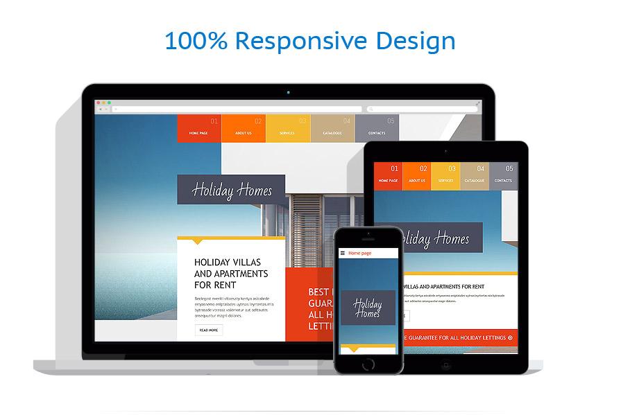 Modèles HTML5 Immobilier #54590