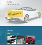 Cars Muse  Template 54595