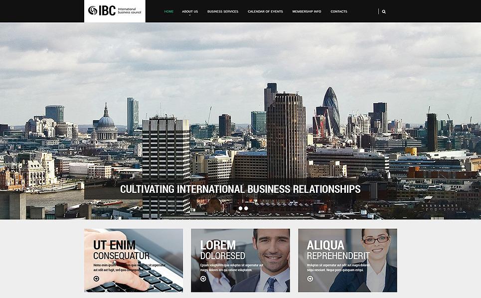 Адаптивный HTML шаблон №54570 на тему бизнес и услуги New Screenshots BIG