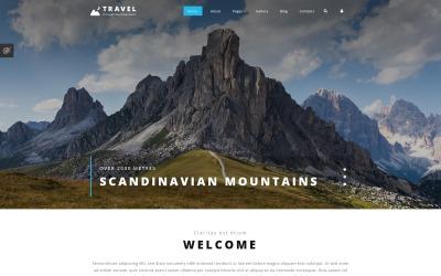 Thème Joomla adaptatif  pour site d'agence de voyage