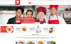 """Cooking School"" Responsive Website template New Screenshots BIG"