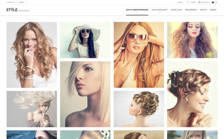 HairStyle PrestaShop Theme