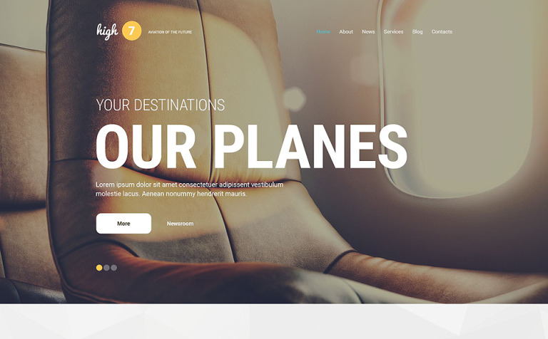 High7 WordPress Theme