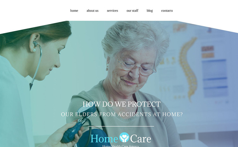Home Care WordPress Theme