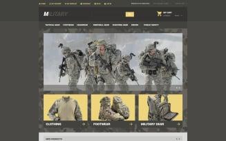 Military Store Magento Theme