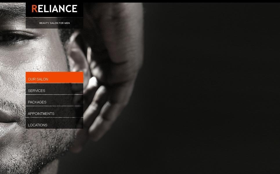 Modèle PSD  pour salon de beauté New Screenshots BIG