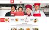 Plantilla Web para Sitio de Escuelad de cocina New Screenshots BIG