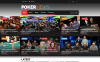 Responsive Website Vorlage für Online Poker  New Screenshots BIG