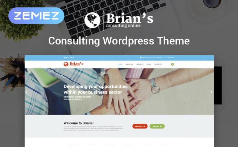 WordPress Theme #54575 für Beratung