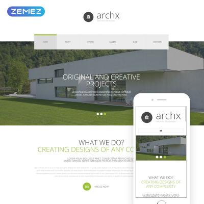 Responsywny szablon Joomla #54593 na temat: architektura