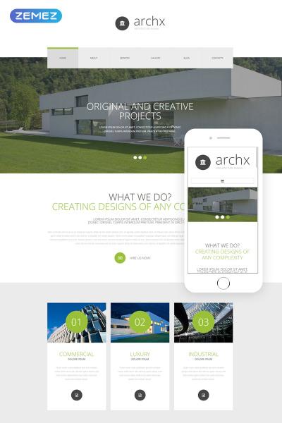 Reszponzív Építészet témakörű  Joomla sablon #54593