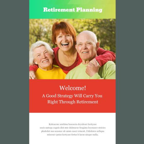 Retirement Planning - Responsive Newsletter Template