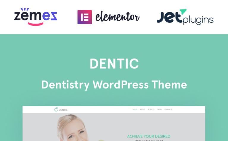 Tema de WordPress #54581 para Sitio de Odontología