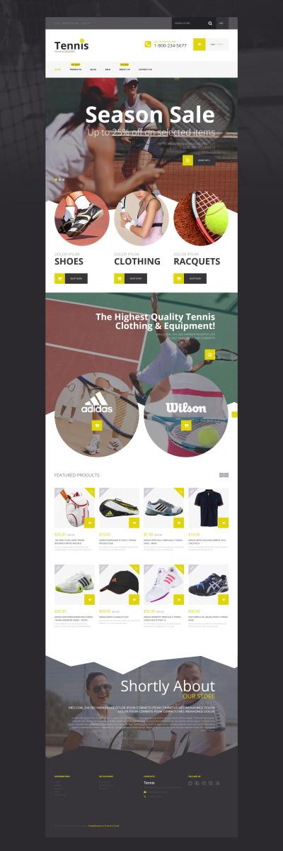 Responsive Tema Shopify #54548 para Sitio de  para Sitio de Tenis