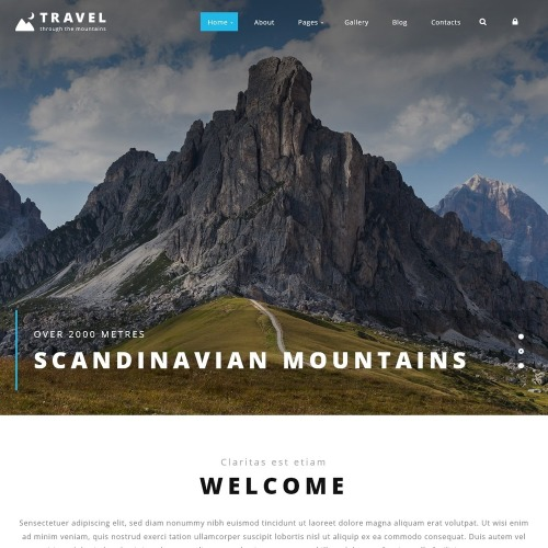 Travel - Joomla! Template based on Bootstrap
