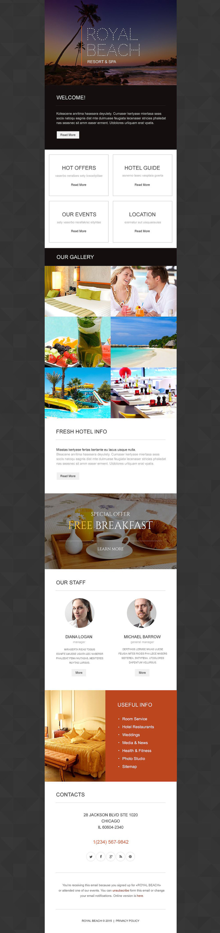 Travel Agency Responsive Newsletter Template New Screenshots BIG
