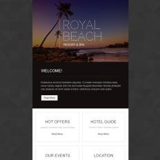 Travel Agency Responsive Newsletter