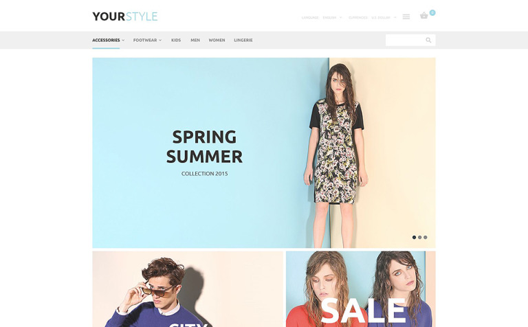 YourStyle OsCommerce Template