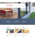 Furniture Website  Template 54602