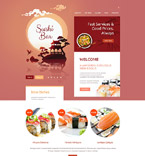 Cafe & Restaurant Drupal  Template 54603