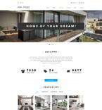Real Estate Drupal  Template 54604