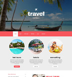 Travel Drupal  Template 54605