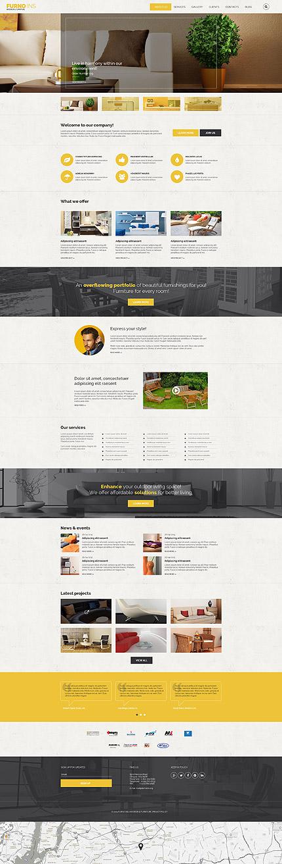Website Template #54608