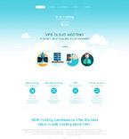 Web Hosting Drupal  Template 54609