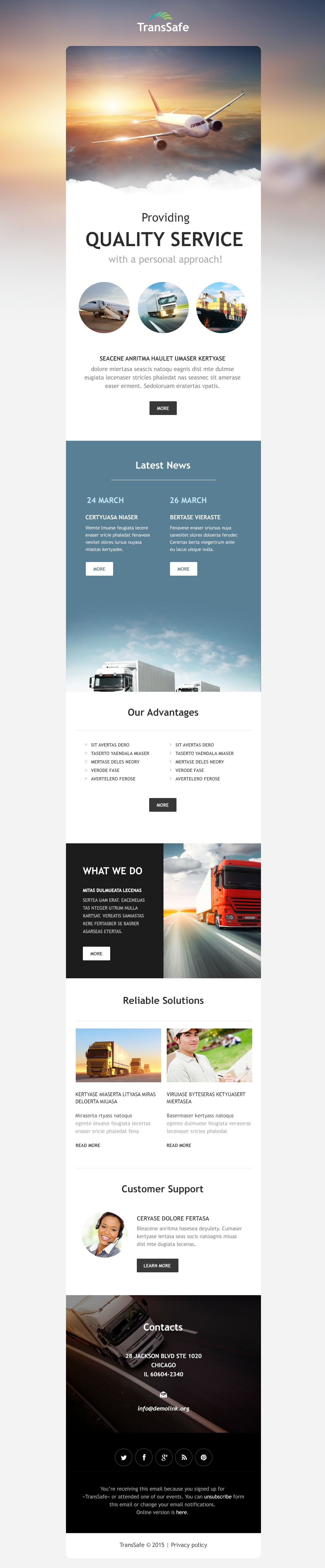 The Transsafe Transportation Company Newsletter Template Design 54616, one of the best Newsletter templates of its kind (transportation, most popular), also known as transsafe transportation company Newsletter template, transport Newsletter template, fast Newsletter template, reliability Newsletter template, safety Newsletter template, express Newsletter template, exportation Newsletter template, trucking Newsletter template, work Newsletter template, team Newsletter template, profile Newsletter template, support Newsletter template, customer Newsletter template, clients solutions Newsletter template, cars Newsletter template, cargo Newsletter template, services Newsletter template, shipment Newsletter template, rates Newsletter template, prices Newsletter template, offer Newsletter template, standards Newsletter template, vehicle Newsletter template, destination Newsletter template, trucking Newsletter template, sea Newsletter template, air Newsletter template, help and related with transsafe transportation company, transport, fast, reliability, safety, express, exportation, trucking, work, team, profile, support, customer, clients solutions, cars, cargo, services, shipment, rates, prices, offer, standards, vehicle, destination, trucking, sea, air, help, etc.
