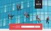 Responsivt Landing Page-mall för fönstertvätt New Screenshots BIG