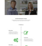 Real Estate Landing Page  Template 54618