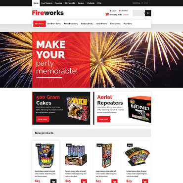 Preview image of Fireworks Shop