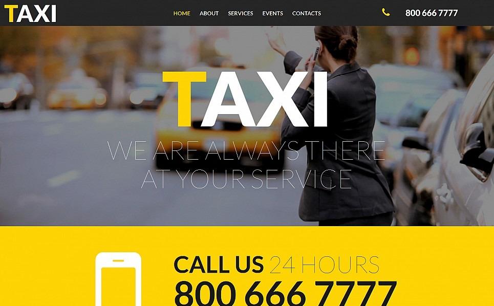 Modello Moto CMS 3 Responsive #54626 per Un Sito di Taxi New Screenshots BIG