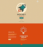 Web design Moto CMS 3  Template 54628