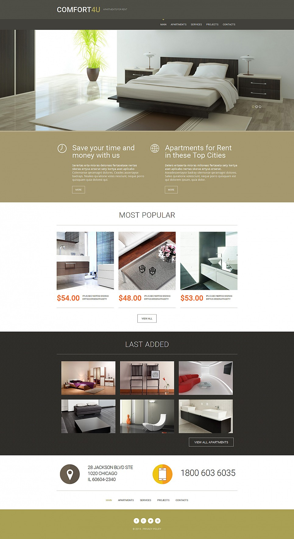 Property Search Website Template - image