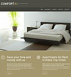 Real Estate Moto CMS 3  Template 54629