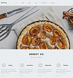 Food & Drink Moto CMS 3  Template 54636