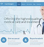 Medical Moto CMS 3  Template 54639