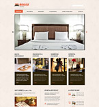 Hotels WordPress Template 54645