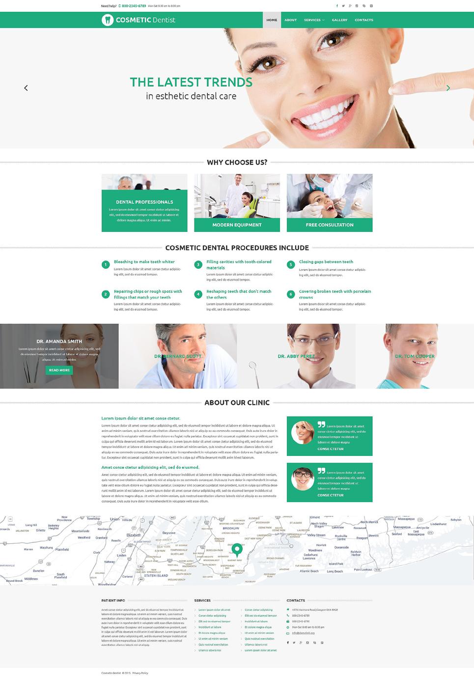 Diamond Smile template illustration image