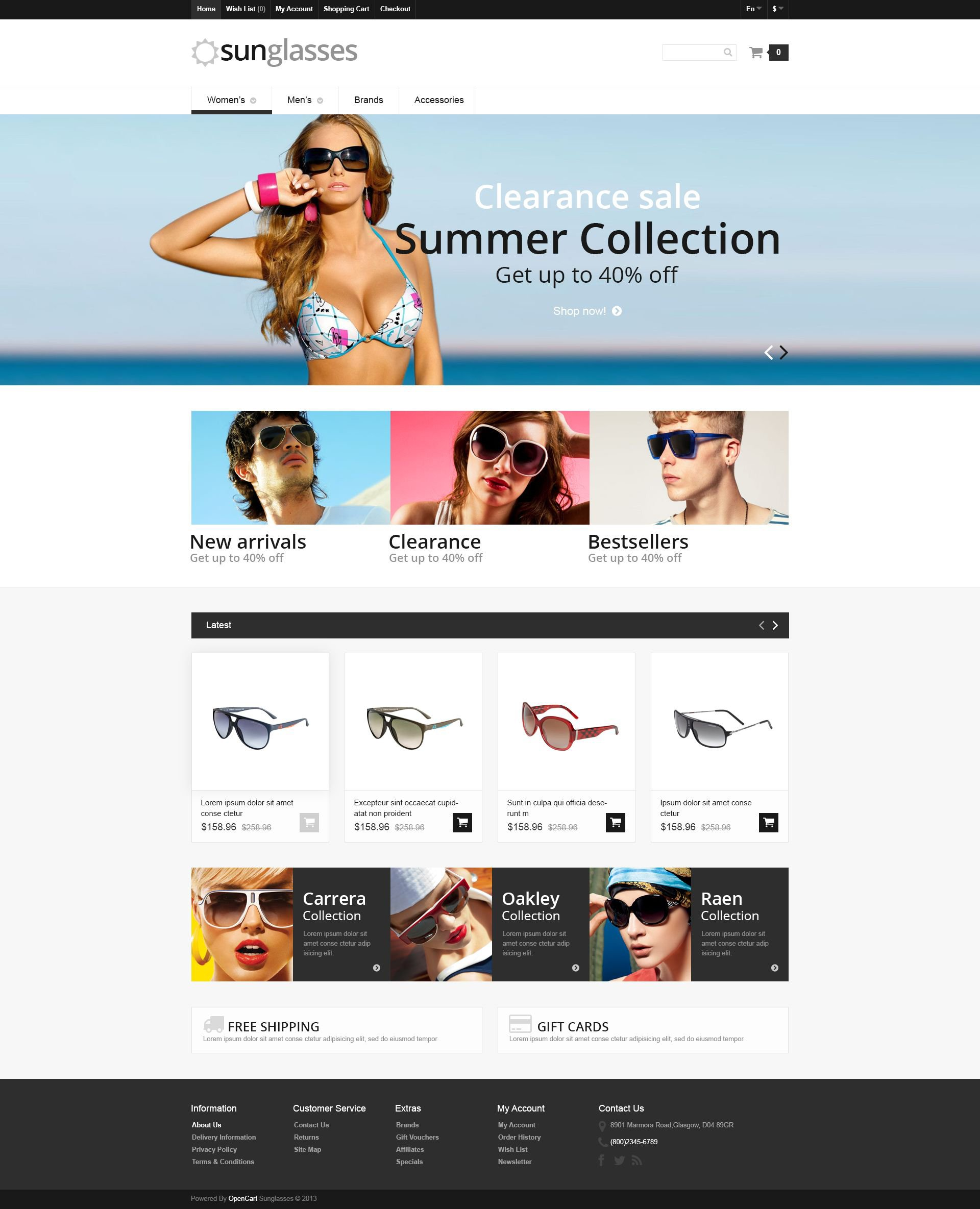 The Design OpenCart Design 54653, one of the best OpenCart templates of its kind (fashion, most popular), also known as design and related with design, etc.