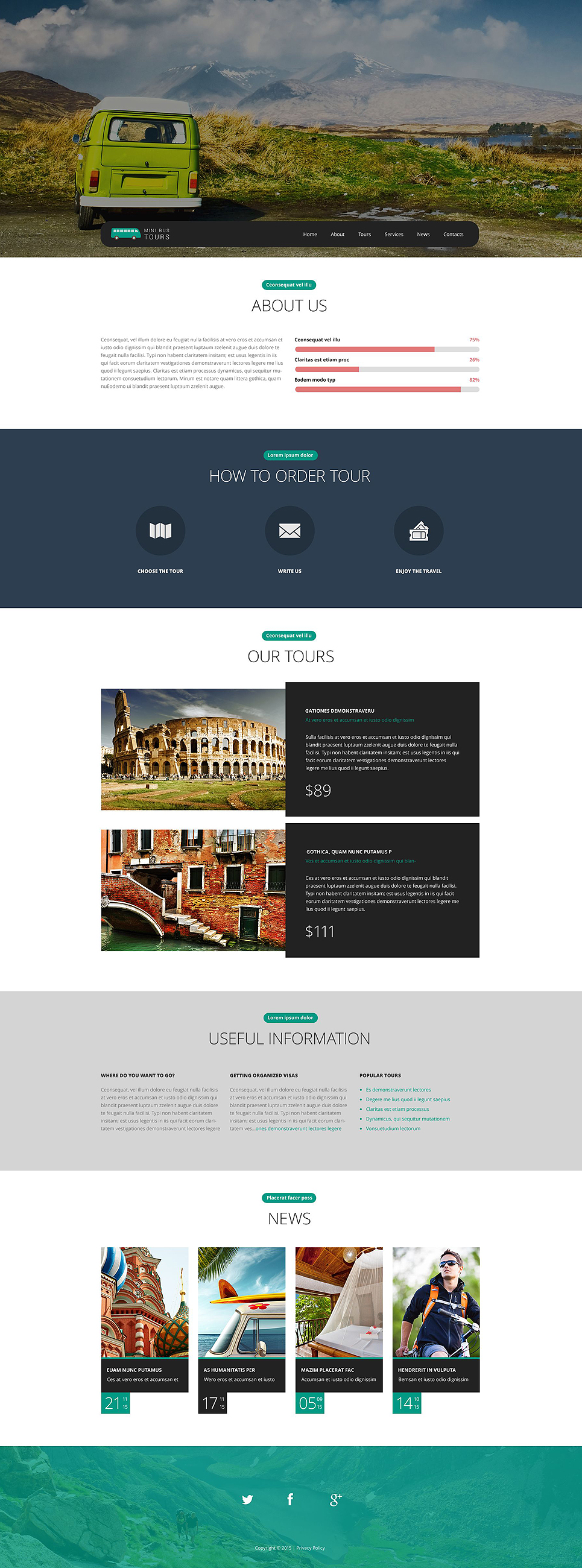 Pro Travel Website template illustration image