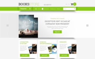 Online Literature Orders OpenCart Template