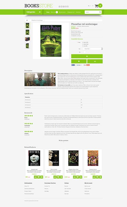 ADOBE Photoshop Template 54657 Home Page Screenshot