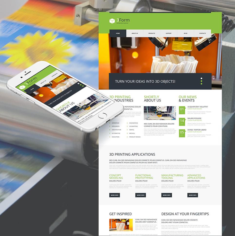 Prototype Design Website Theme - image