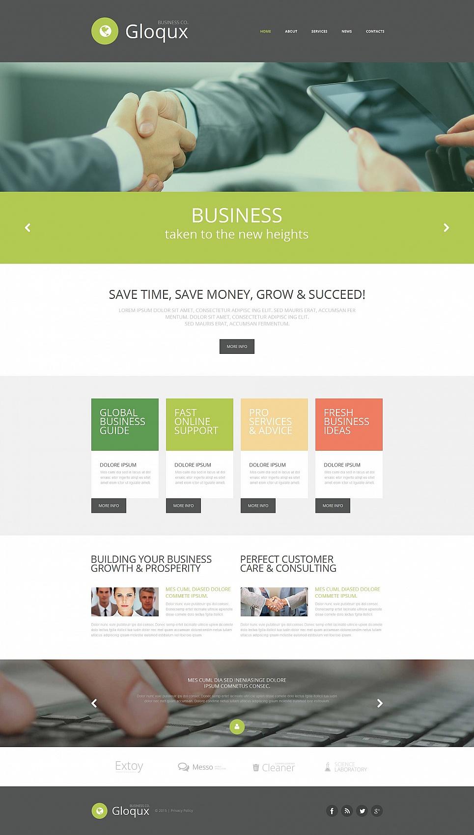 Business Web Theme - image