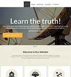 Science Moto CMS HTML  Template 54675