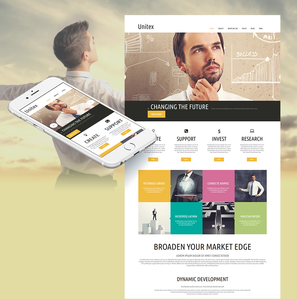 Business Site Design - image